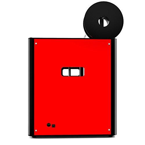 Hohe Präzision Gebaut 3D Drucker Metallrahmen Desktop 3D-Maschine, Unterstützung Multi-Filament FDM Professional 3D Drucker, maximale Druckgröße: 210 * 210 * 210mm (Rote) - 4