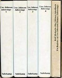 Jahrestage. Aus dem Leben von Gesine Cresspahl. 4 Bände.