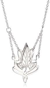 Seigneur des Anneaux - 5009 - Collier Femme - Argent 925/1000 7.5 Gr