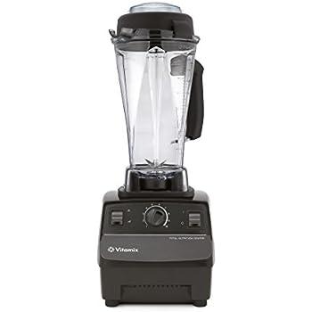 Vitamix VTX TNC5200 BK Total Nutrition Center Power Mixer und Entsafter, Schwarz
