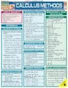 Calculus Methods (Quickstudy: Academic) Lam Chrt by BarCharts, Inc. (2004) Pamphlet