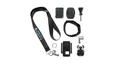 GoPro Zubehör Kit (geeignet für HD HERO2/HERO3/HERO3+/HERO4/Original HD HERO) (Wearable-kit)