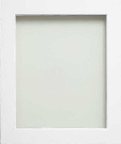 Frame Company Hamilton Range Bilderrahmen, aus Holz, Weiß, weiß, 10x8 inches - 25.4x20.3cm