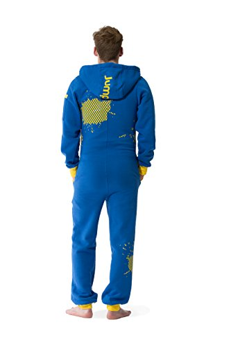 Jumpster Herren und Damen Jumpsuit Langer Overall First G. Regular Fit Blau M - 2