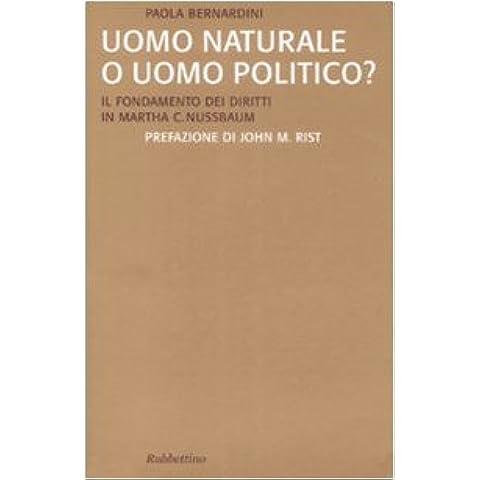 Uomo naturale o uomo politico? Il fondamento dei diritti in Martha C. Nussbaum
