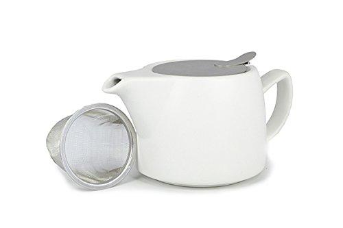 Shamila Teekanne Modern Air weiß matt 0,4 L