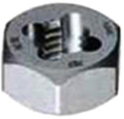 Gyros 92-91615 Metric Carbon Steel Hex Rethreading Die, 16mm x 1.50 Pitch by Gyros -