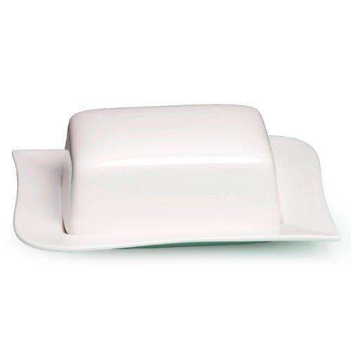 Beurrier Ritzenhoff & Breker Melodie, Porcelaine de Qualité Supérieure, Lavable au Lave-Vaisselle, 580259
