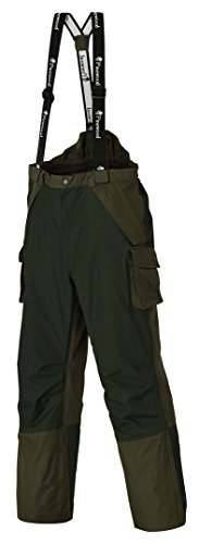 Pinewood Überhose Ancona, Green/Darkgreen, L, 9824-104