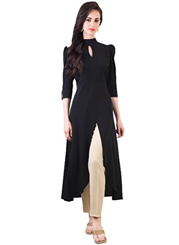 Kurti (Women\'s Clothing Cotton Kurti for women latest designer wear Semi-Stitched Kurti collection in latest Kurti beautiful bollywood Kurti for women party wear offer designer Kurti)