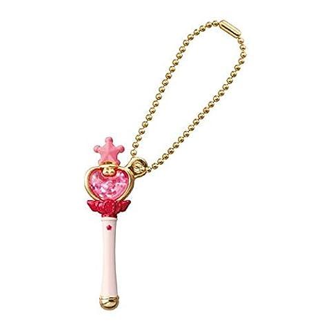 Sailor Moon Die-cast Charm Part 2~Figure Swing Keychain~Pink Moon Stick~42mm