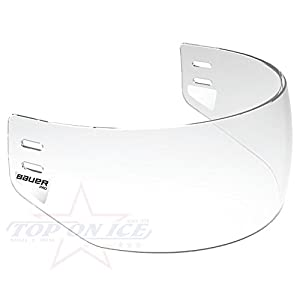 Bauer Visier Pro Straight clear Halbvisier