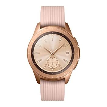 Samsung Galaxy - Reloj inteligente, Bluetooth, Dorado, 42 mm