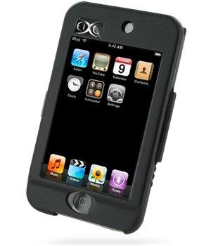 Luxus Alucase Black (Schwarz) für Apple iPod Touch 2. Generation 8GB / 16GB / 32GB, Aluminium Hardcase, Alu Hard Case, Alu Case Apple 8 Gb 2. Generation Ipod Touch