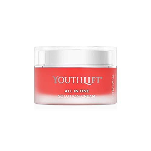 YOUTHLIFT All in One Solution Cream - Anti-Aging-Creme für Gesicht, Hals, Dekolleté - Sofort- & Langzeit-Effekt gegen Falten - Kosmetik, vegan - 50 ml