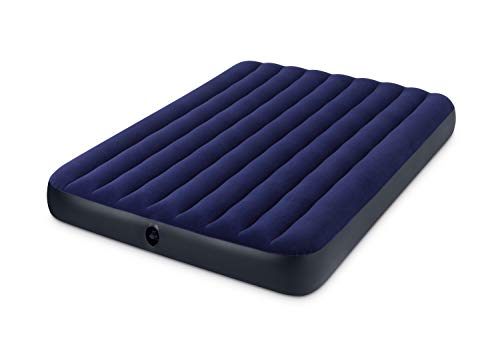Intex - Matelas gonflable - Downy Queen - 2-pers. - 203x152x22 cm
