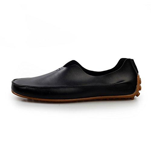 Zapatos de lona ocasionales de los hombres de verano/Zapatos/Versión coreana de pedal zapato-B Longitud del pie=24.8CM(9.8Inch) 7kngnwp