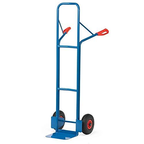 For Demand mcacpcrp5 diable roues pneumatiques A2, 300 kg Charge, 15 kg poids, 580 mm largeur x 1600 mm Hauteur