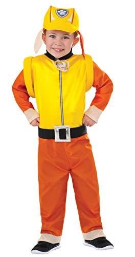 Rubie's rubble - costume da ufficiale di pattuglia animali, a tutina.