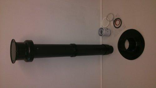 Cointra-Abgang senkrecht Concentrica Durchmesser 60/100/1100mm -