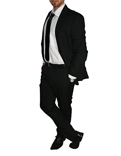 Victor - Costume - Homme Noir - Noir