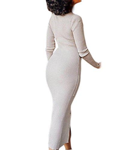 Dissa S1161219 femme Sexy Robe de soirée Blanc