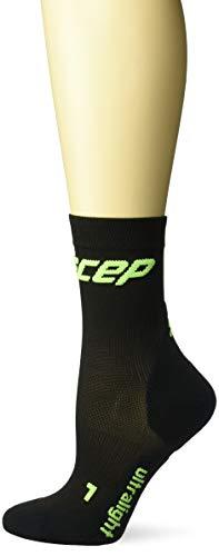 Girls Compression Shorts (CEP Damen Kompressionsbekleidung Ultralight Short Socks schwarz, 4)