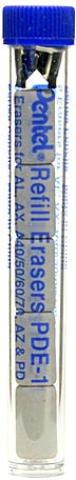 Pentel Schneller Clicker Automatische Bleistift (5Stück Radierer Refills) 6PCS SKU # 1822719MA (Clicker-folien)
