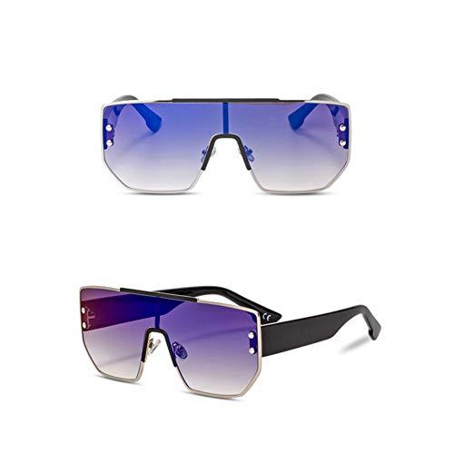 Kjwsbb Unisex-Sonnenbrille Damen 2019 Sonnenbrille Black Square Sunglass Women
