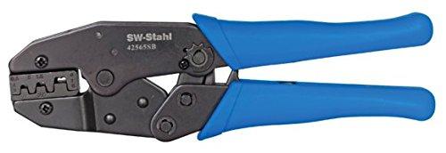 SW-Stahl Kerbzange für unisolierte Verbinder von 0,5 - 6 qmm, 42565SB