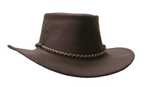 Le chapeau Echuca de Kakadu Traders, 2H17 Marron