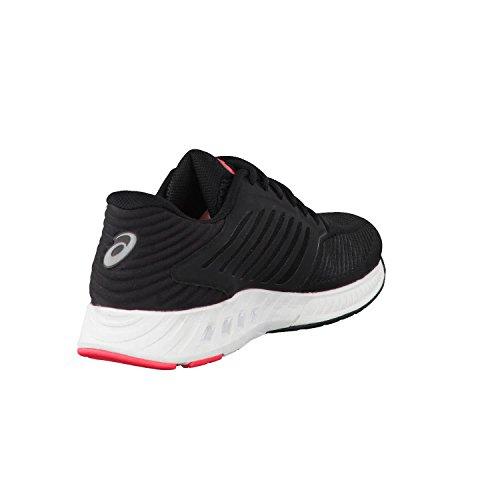 Asics Damen Fuzex Laufschuhe schwarz - weiß - rosa
