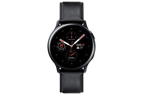Oferta de Samsung Galaxy Watch Active 2 - Smartwatch de Acero, 44mm, color Negro, LTE [Versión española]