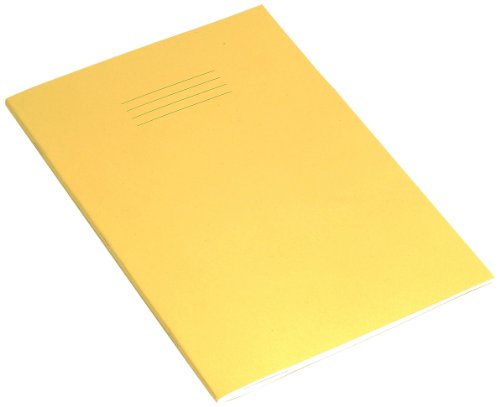 rhino-a4-80-page-exercise-book-yellow-cover-pack-of-10