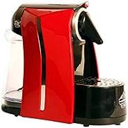 نابوليتانو ماكينة صنع القهوة بكبسولات - احمر