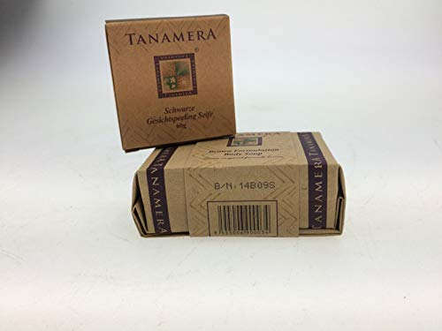 Original Tanamera 2-er Set Body and Face Soap, Körperpeeling Seife und schwarze Gesichtsseife