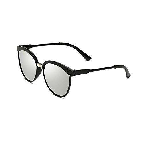 WERERT Sportbrille Sonnenbrillen Classic Simple Sunglasses Women Plastic Sun Glasses Classic Retro Femme Uv400