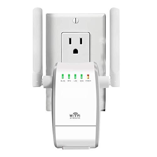 WLAN Router WiFi Repeater Wireless N Range Extender Mini Ap Router Signal Booster Mini AP Router Netzwerk Dual Externe Antenne 300 Mbps Mit WPS