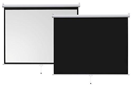 ivolum Rolloleinwand 240 x 180cm Nutzfläche   Format 4:3 - 7