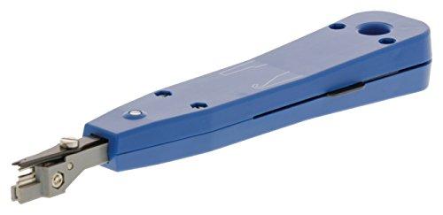 KnnX 28112 - Professionelles Punch-Down-Tool für die Verdrahtung von Telefon- und Netzwerkbuchsen - Anschluss und Einsetzen von Krone IDC-Blöcken Einsteckwerkzeug (Down Tool Punch Telefon)