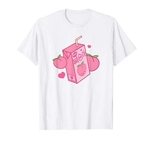 Kawaii   Japan & Korea   K-Pop   Süße Pfirsich Saft Box T-Shirt -
