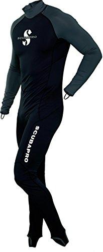 Scubapro UPF-50 Steamer - Skin Suit Overall Herren, Farbe:schwarz, Größe:3XL