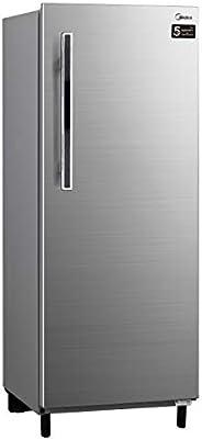 Midea Direct Cool Fridge 235L Gross Capacity, Silver, HS235L, 1 Year Warranty