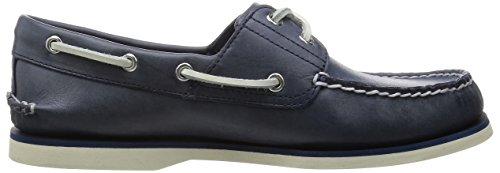 Timberland Classic Boat 2 Eye, Chaussures de Voile Homme Navy