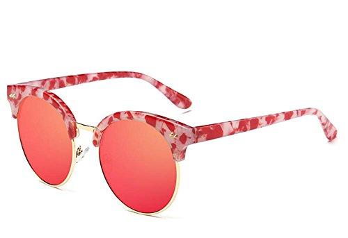 Gslut modo delle signore polarizzati di marea di colore degli occhiali da sole Capelli biondi (Signore Blu Visor)