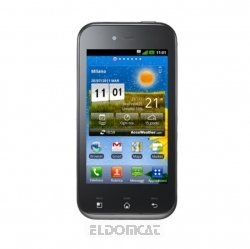 Foto LG Optimus Sol E730, Titan Black