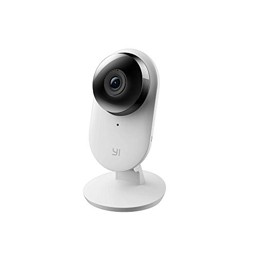 YI Home Camera 2nd 1080p Wifi IP Überwachungskamera, Smart Home Kamera mit Nachtsicht, Bewegungsalarm, 2-Way Audio, Gestenerkennung, Haus Monitor, App für Smartphone/PC, YI Cloud Service