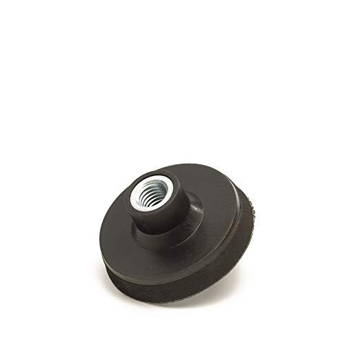 Glass Polish 3Pulgadas (75mm) lijadora Velcro M14x 2Rosca, Capa de Espuma de (10mm) Densidad Media Hook and Loop Almohadilla de Pulido,–Almohadilla de Lijado