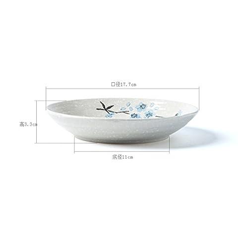Creative handgemalten,keramik,das gericht/fisch/dessertteller/steak/obstteller/haushalt geschirr-A