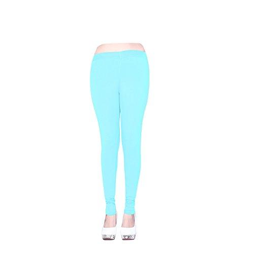 Vatsla Enterprise Women\'s Pure Cotton Leggings(VLeggings024_Light sky_COLOUR)